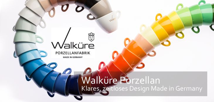 Walküre Porzellan - Klares, zeitloses Design Made in Germany