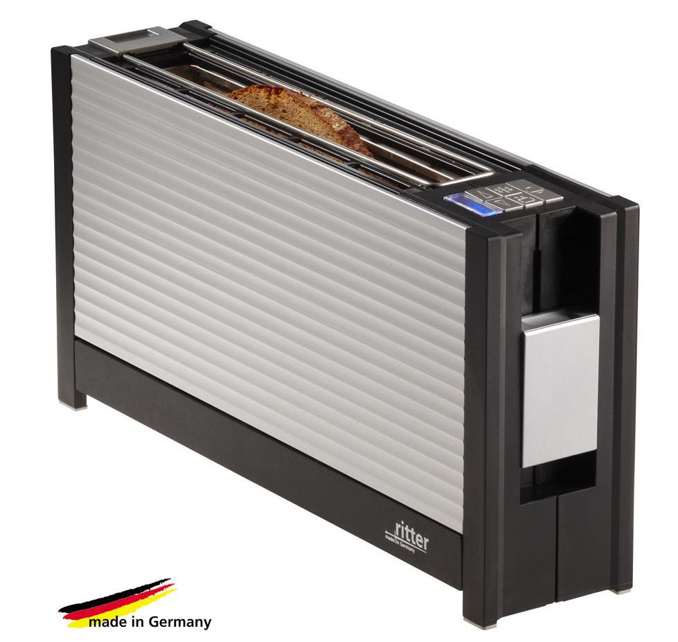 ritter toaster volcano3 aluminium ebay. Black Bedroom Furniture Sets. Home Design Ideas