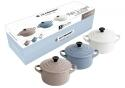 Le Creuset Mini- Cocotten Matt, 3er- Set