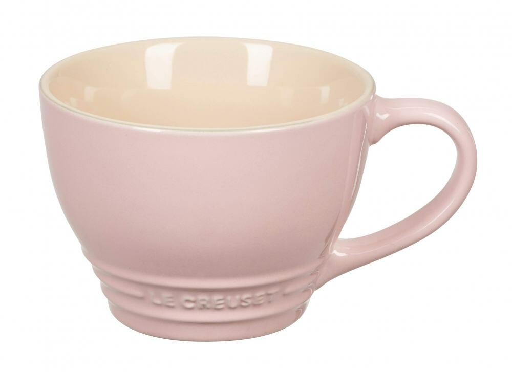 le creuset cappuccinotasse in chiffon pink kochform. Black Bedroom Furniture Sets. Home Design Ideas