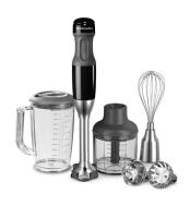 KitchenAid Stabmixer-Set in schwarz