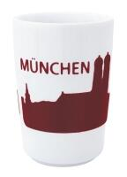 Kahla Five Senses touch! Maxi- Becher München in rot