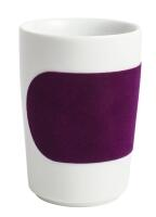 Kahla Five Senses Maxi- Becher 0,35 l in touch! aubergine