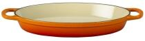 Le Creuset Auflaufform Signature oval in ofenrot