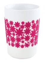 Kahla Five Senses Maxi-Becher 0,35 l in touch! magenta Flower Power