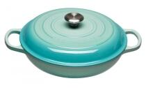 Le Creuset Gourmet-Profitopf Signature in cool mint