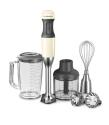 KitchenAid Stabmixer- Set in creme