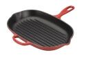 Le Creuset Grillpfanne Signature oval in kirschrot