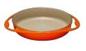 Le Creuset Tatin- Backform aus Gusseisen in ofenrot