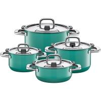 Silit Kochtopf-Set Nature Green, 4-teilig