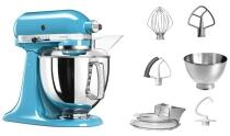 KitchenAid Küchenmaschine ARTISAN 175PS in cristallblau, 4,8 L