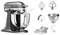 KitchenAid Küchenmaschine ARTISAN 175PS in medallion silber, 4,8 L