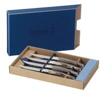 Opinel Steakmesser-Set Table Chic Birkenschichtholz, 4-teilig