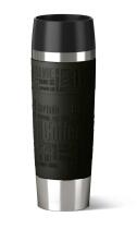 Emsa Isolier-Trinkbecher Travel Mug Grande in schwarz