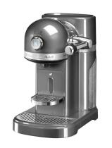 KitchenAid Nespressomaschine ARTISAN in medallion silber