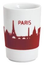 Kahla Five Senses Maxi-Becher 0,35 l in touch! rot Paris