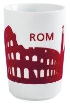 Kahla Five Senses touch! Maxi-Becher Rom in rot