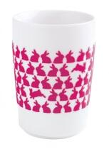 Kahla Five Senses Maxi-Becher 0,35 l in touch! magenta Easter Bunny