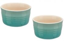 Le Creuset Förmchen-Set, 2-teilig in cool mint