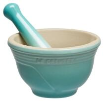 Le Creuset Mörser in cool mint