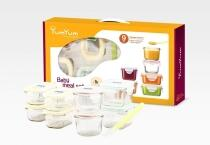Glasslock Baby Meal Set, 9 Teile