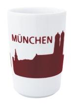 Kahla Five Senses touch! Maxi-Becher München in rot