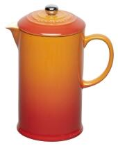 Le Creuset Kaffeebereiter in ofenrot