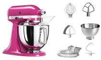 KitchenAid Küchenmaschine ARTISAN 175PS in fuchsia, 4,8 L