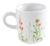 Kahla Magic Grip Wildblume Espresso-Obertasse 0,09 l, rot-gelb