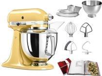 KitchenAid Küchenmaschine ARTISAN 175PS in pastellgelb, 4,8 L