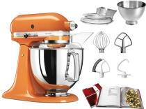 KitchenAid Küchenmaschine ARTISAN 175PS in orange, 4,8 L