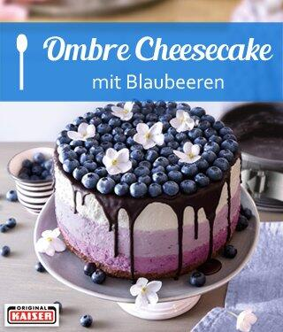 Ombre Cheesecake