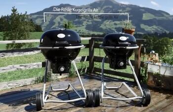 Rösle Gasgrill Kugelgrill 60 Cm : Rösle kugelgrill no.1 f60 air kochform