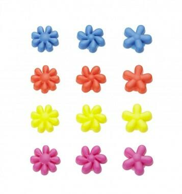 Lurch Glasmarkierer Pretty Flowers 12er Set Kochform