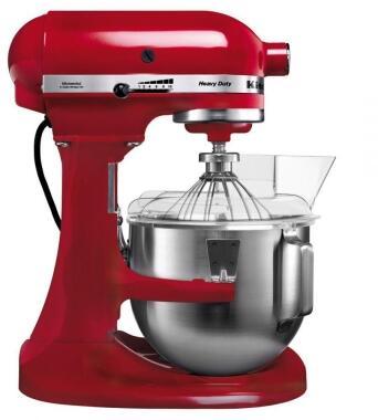 KitchenAid Küchenmaschine HEAVY DUTY in empire rot, 4,8 L
