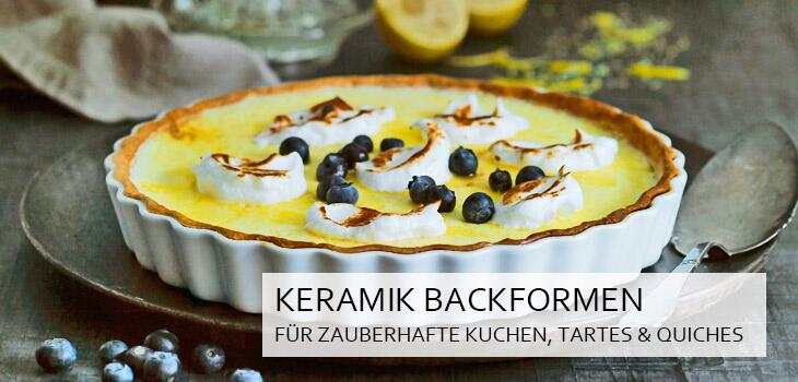 Backformen aus Keramik - Backen in Bestform