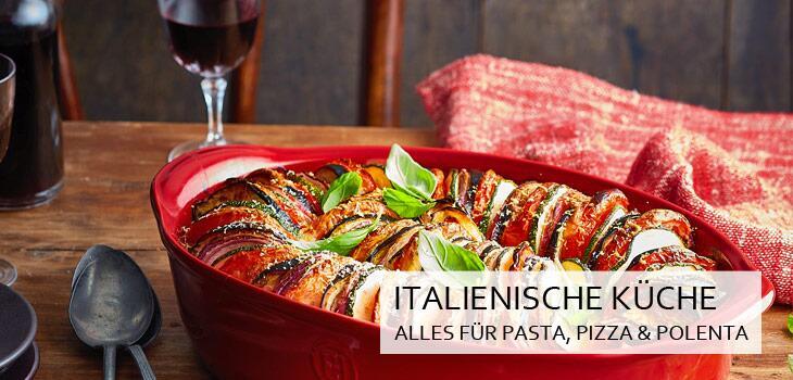 Italienische Kuche Alles Fur Pasta Pizza Co Bei Kochform