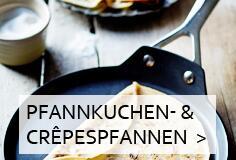 Crepespfannen & Pfannkuchenpfannen & Waffeleisen