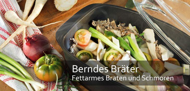 Berndes Bräter - Fettarmes Braten und Schmoren im Leichtgewicht aus Aluguss
