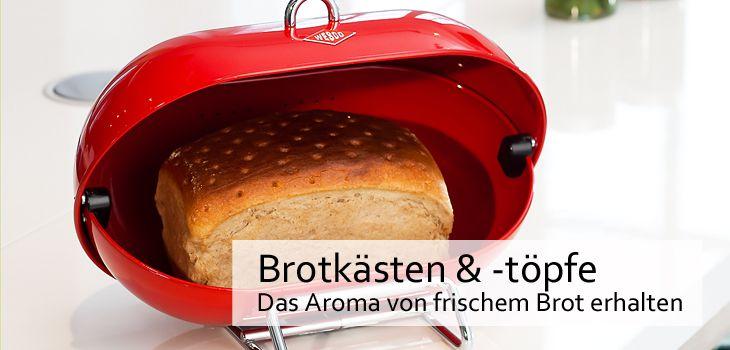 Brottöpfe & Brotkästen - Das Aroma von frischem Brot möglichst lange erhalten