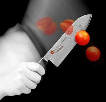 Chroma Haiku Damascus - die Chroma Haiku Messer mit einer Damastklinge