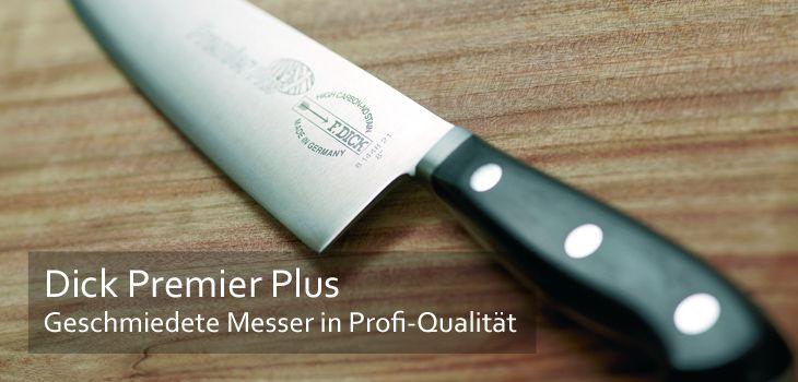 Dick Premier Plus - Geschmiedete Messer in Profi-Qualität