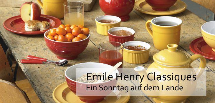 Emile Henry Classiques - Ein Sonntag auf dem Lande