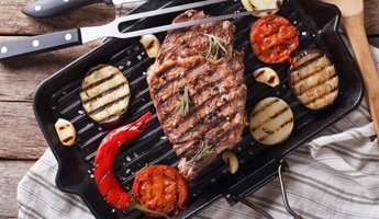 Alles für saftig-knusprige Steaks