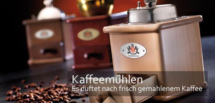 Kaffeemühlen - es duftet nach frisch gemahlenem Kaffee