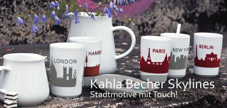 Kahla Becher Skylines - Stadtmotive mit Touch!