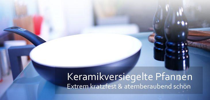 pfannen mit keramikversiegelung extrem kratzfest robust kochform. Black Bedroom Furniture Sets. Home Design Ideas