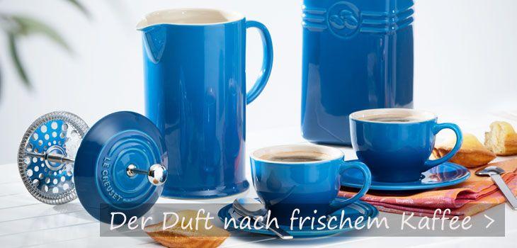 Der Duft nach frischem Kaffee - Exklusive Kaffeekannen von KochForm