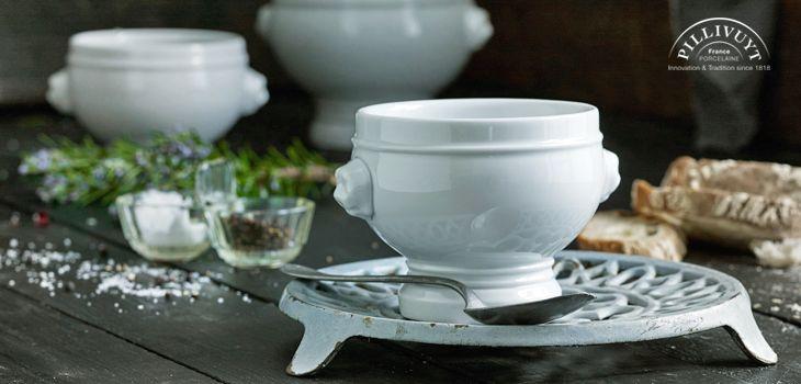 Pillivuyt Schüsseln & Schalen - Stilvoll anrichten und servieren