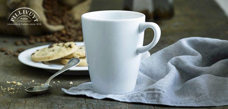 Pillivuyt Tassen - Halten Tee, Kaffee oder Kakao länger warm